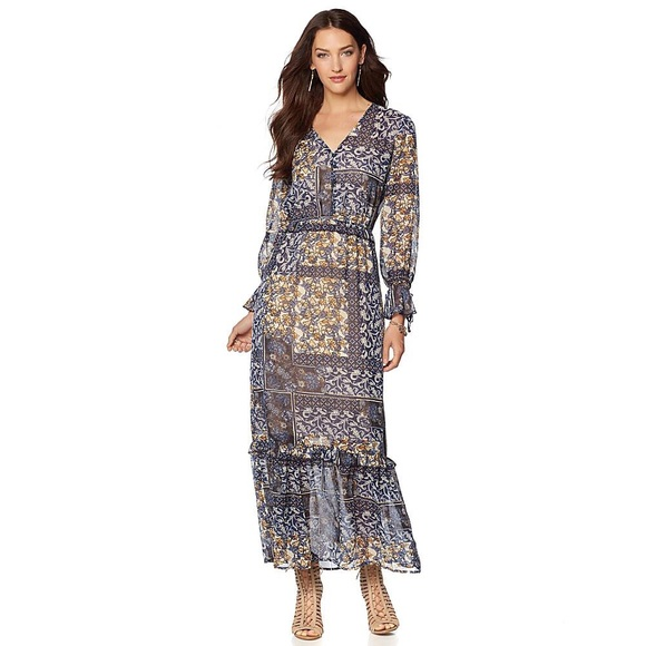 Labellum Dresses Hillary Scott Boho Maxi Dress Plus Size Poshmark